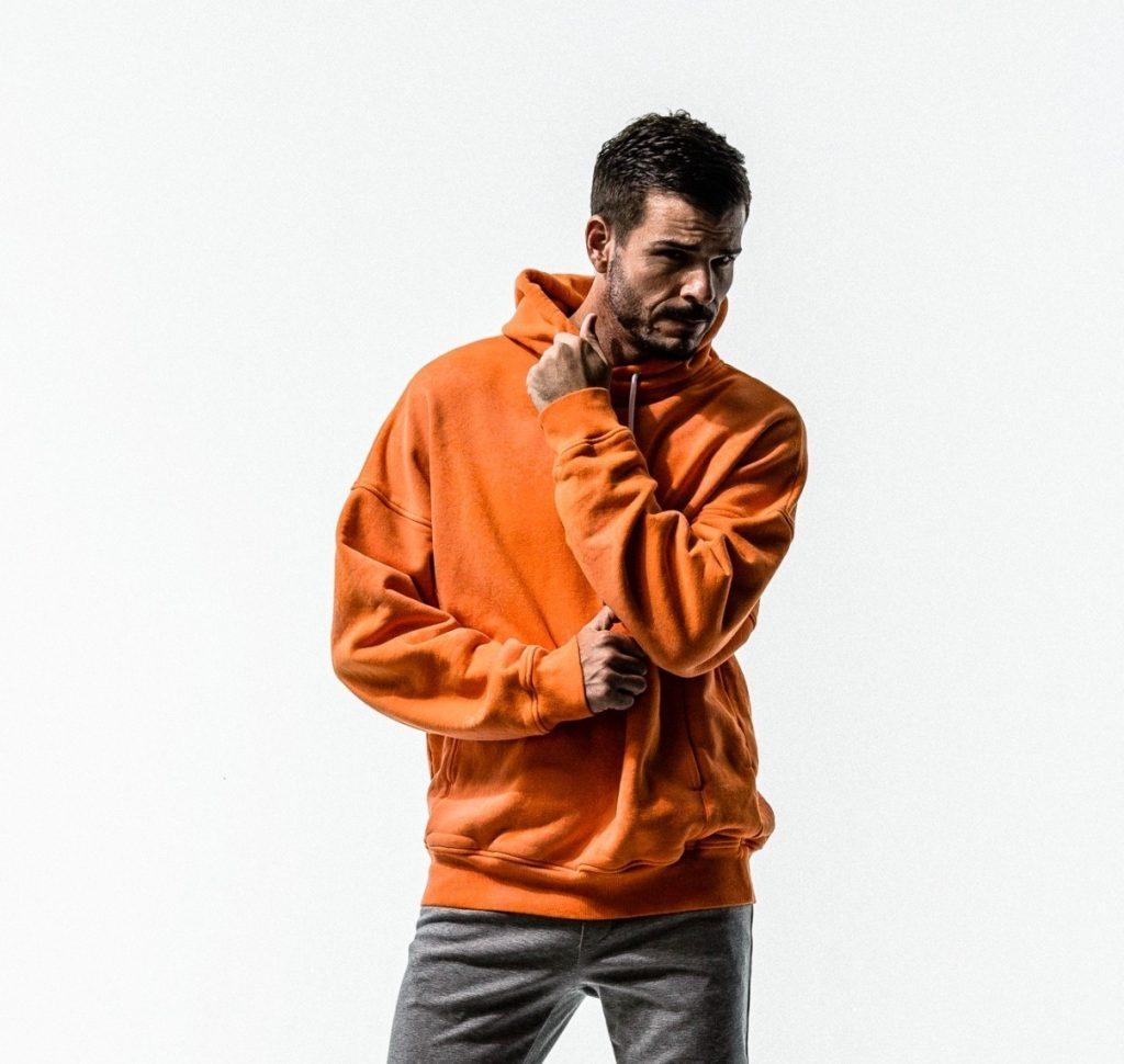 RESOUND CLOTHING Processing loose hoodie②